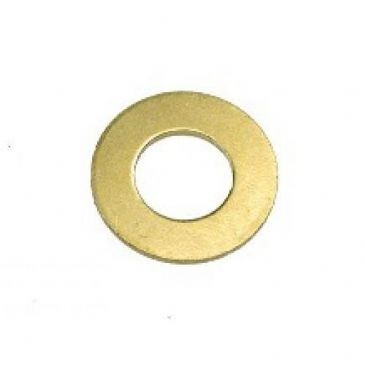M16 Flat Washers Form B Brass Finish To DIN 125 B Packed In 10's
